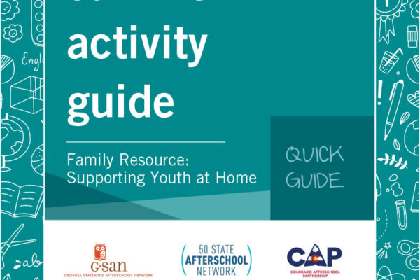 Quick Guide- Family Resource: Supporting Youth at Home