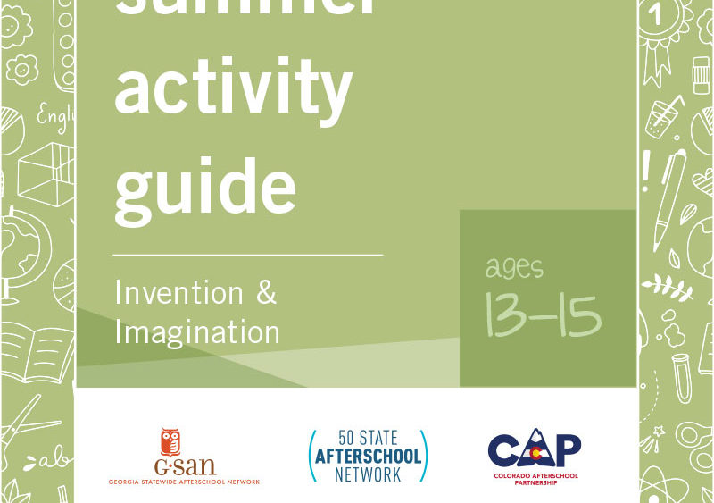 Invention & Imagination, Ages 13-15
