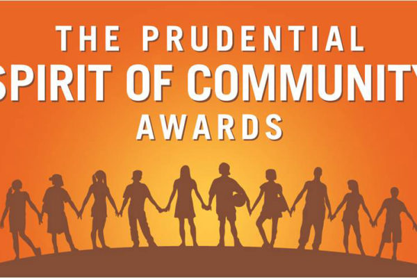 Nominate a youth volunteer for the Prudential Spirit of Community Awards