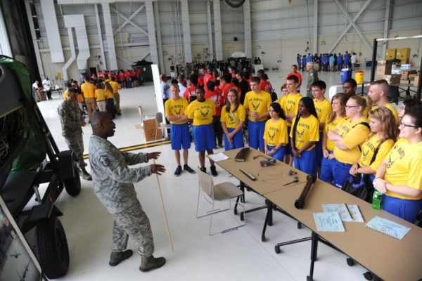 How does afterschool contribute to military readiness?